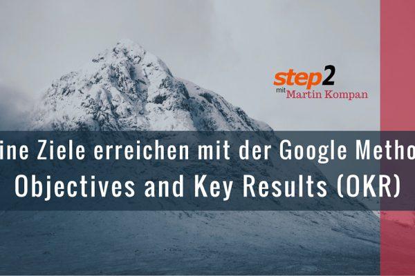 okr objectives key results ziele erreichen